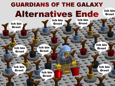 GUARDIANS OF THE GALAXY – alternatives Ende